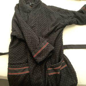 AUTHENTIC Black Gucci Bathrobe Size S